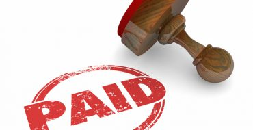 Debt Collection Strategies - 'Paid Stamp