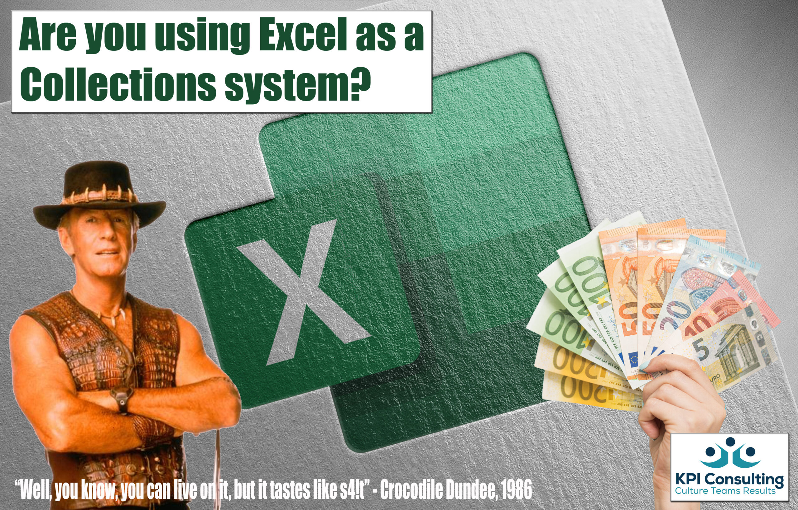 Using Excel as a Collections system