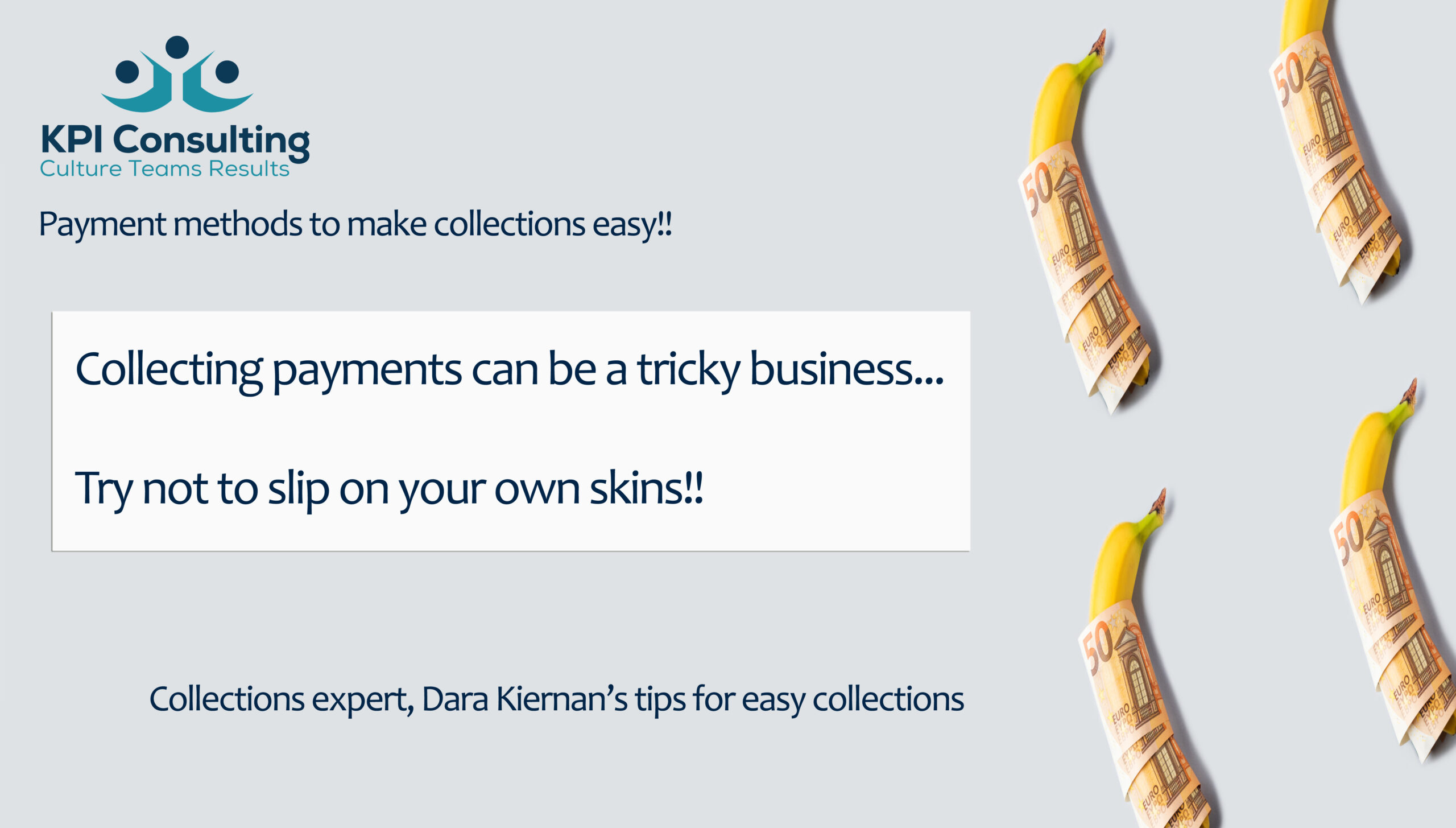 Easy cash collections with KPI Consulting Ireland